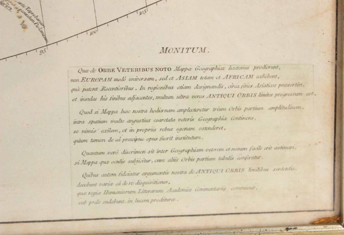 """Map, Orbis Veteribus Notus..."""" - 4"""