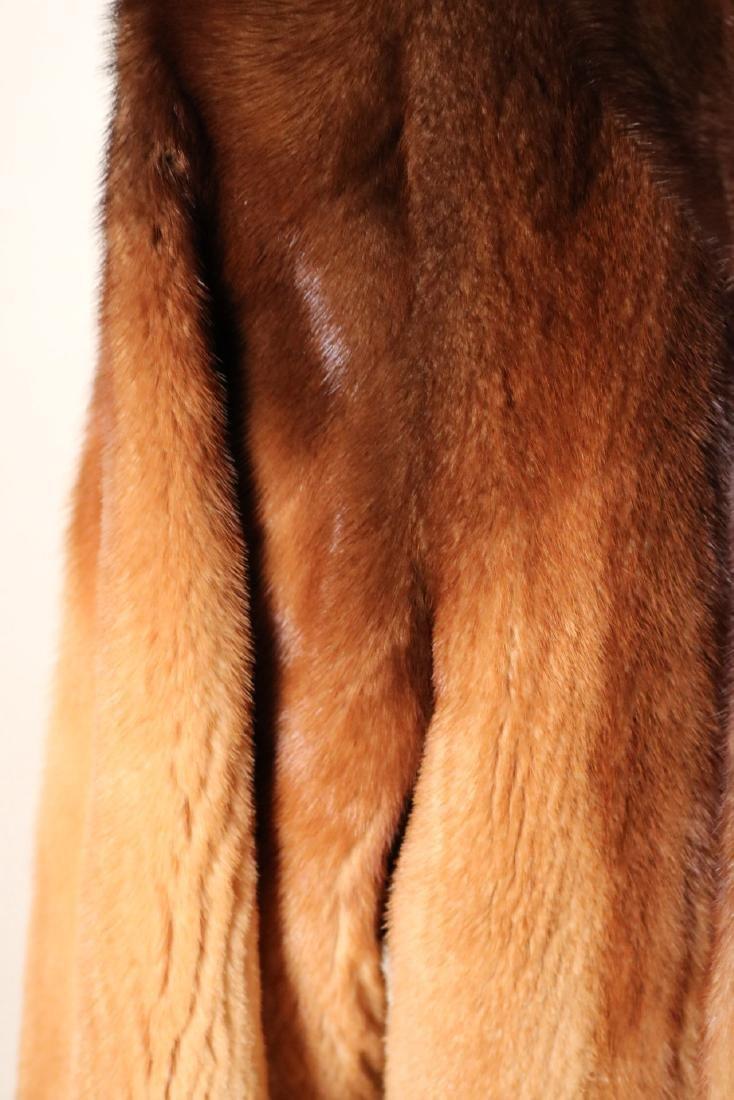 Hooded Sheared Mink Jacket - 3