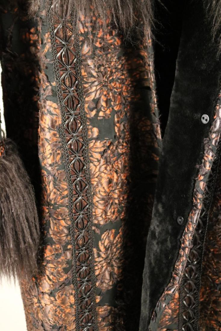 Mongolian Trim and Shearing Jacket - 4