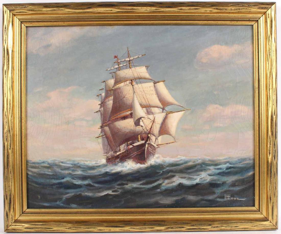 "Oil on Canvas, ""Levi Woodbury,"" Harry Hambro Howe"
