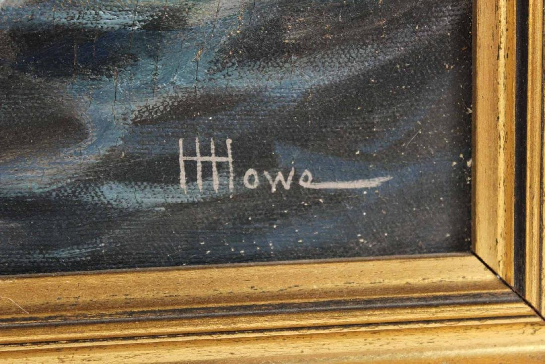 "Oil on Canvas, ""Levi Woodbury,"" Harry Hambro Howe - 3"