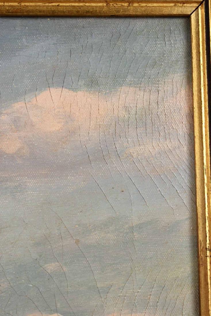 "Oil on Canvas, ""Levi Woodbury,"" Harry Hambro Howe - 4"