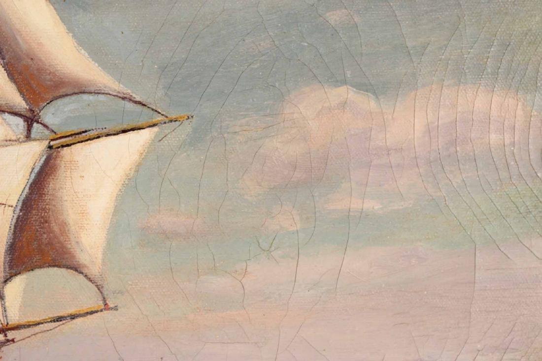 "Oil on Canvas, ""Levi Woodbury,"" Harry Hambro Howe - 5"