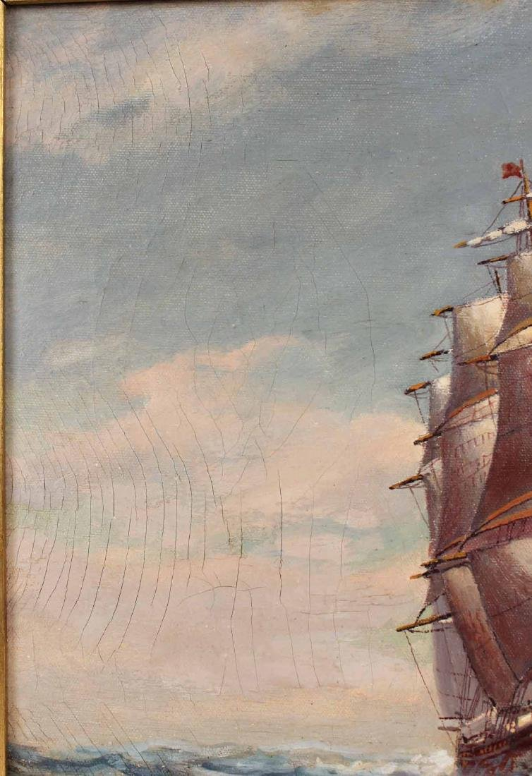 "Oil on Canvas, ""Levi Woodbury,"" Harry Hambro Howe - 7"