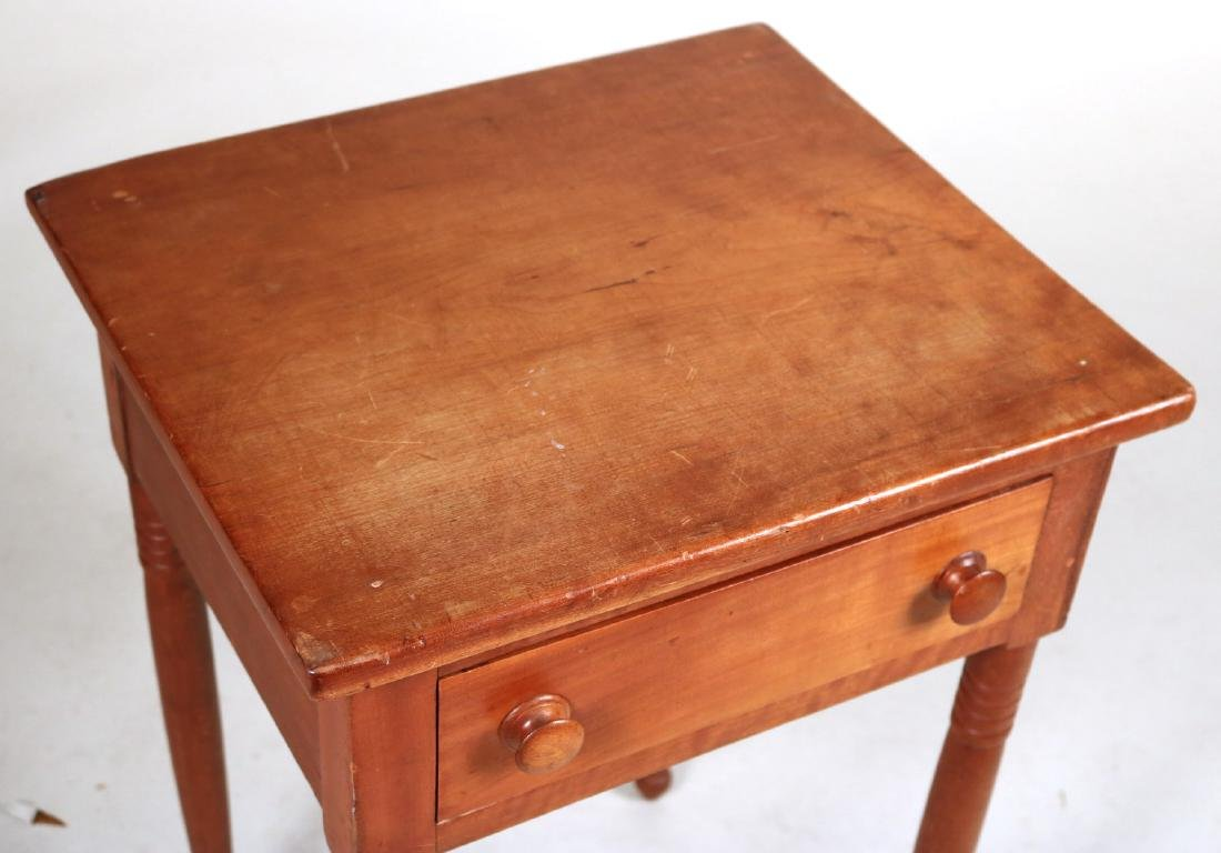 Federal Mahogany Two Drawer Work Table - 9
