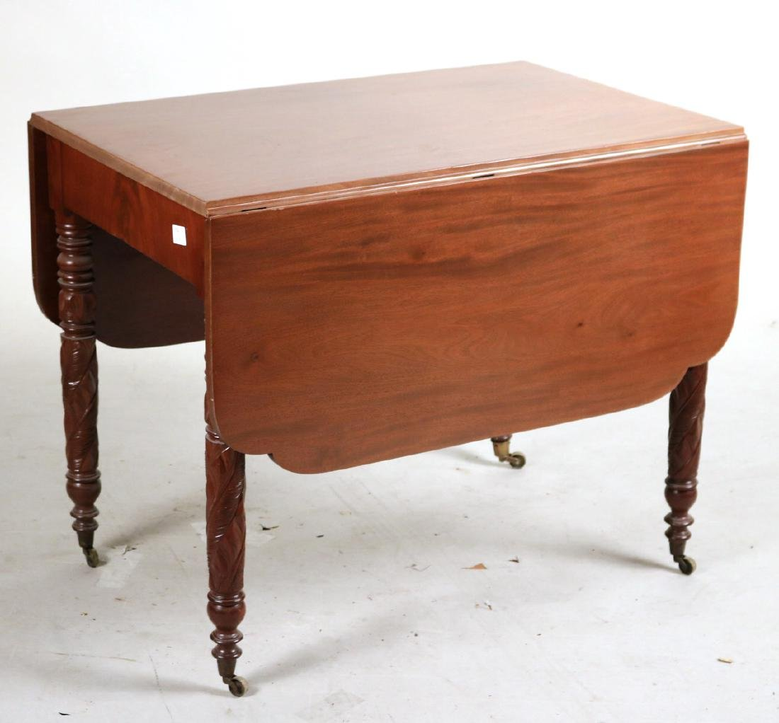 Empire Mahogany Drop Leaf Table