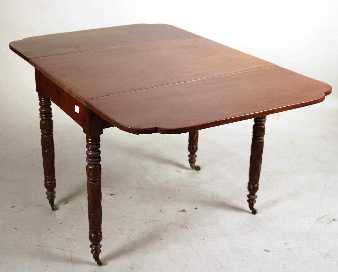 Empire Mahogany Drop Leaf Table - 4