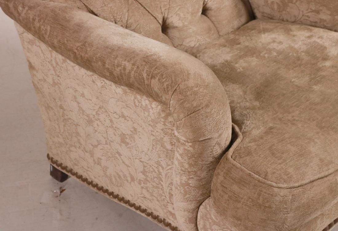 Lillian August Beige-Upholstered Club Chair - 2