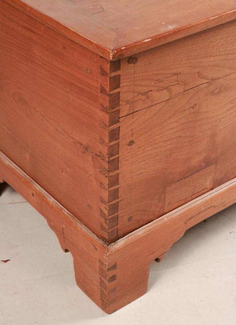 Federal Style Cedar Blanket Chest - 2