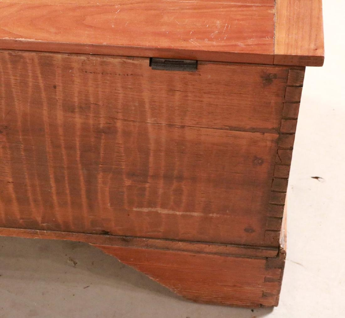 Federal Style Cedar Blanket Chest - 8