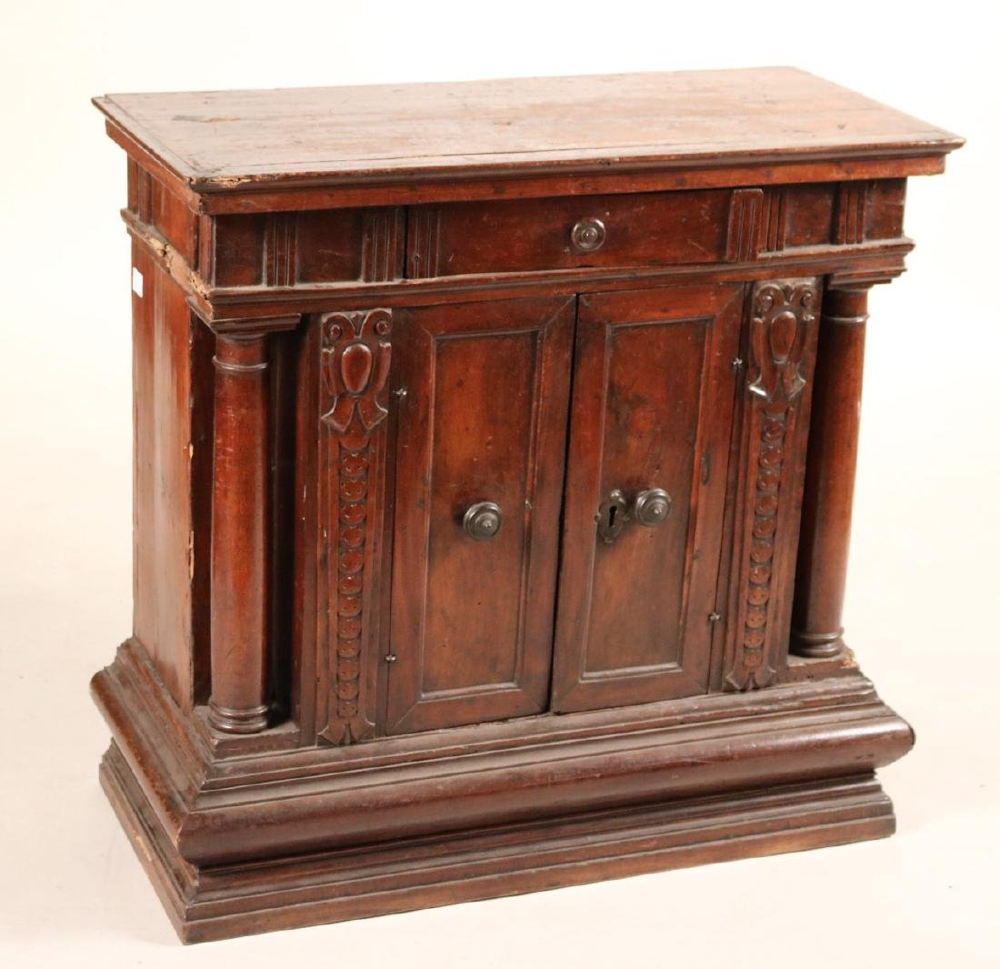Baroque Carved Walnut Cabinet