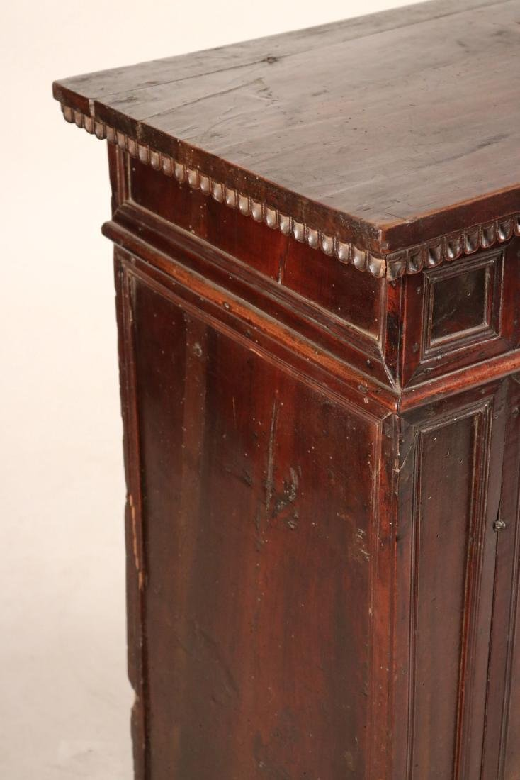 Baroque Style Carved Walnut Lift-Top Cabinet - 2
