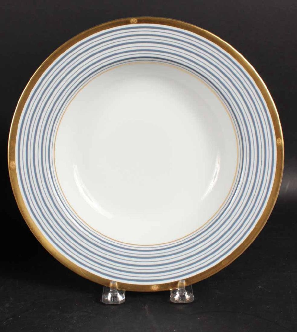 Partial Christian Dior Tropez Blue Dinner Service - 2