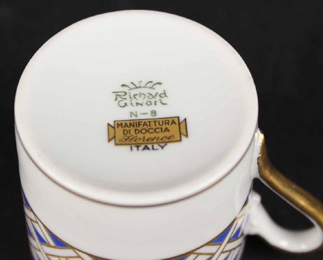 Partial Christian Dior Tropez Blue Dinner Service - 6