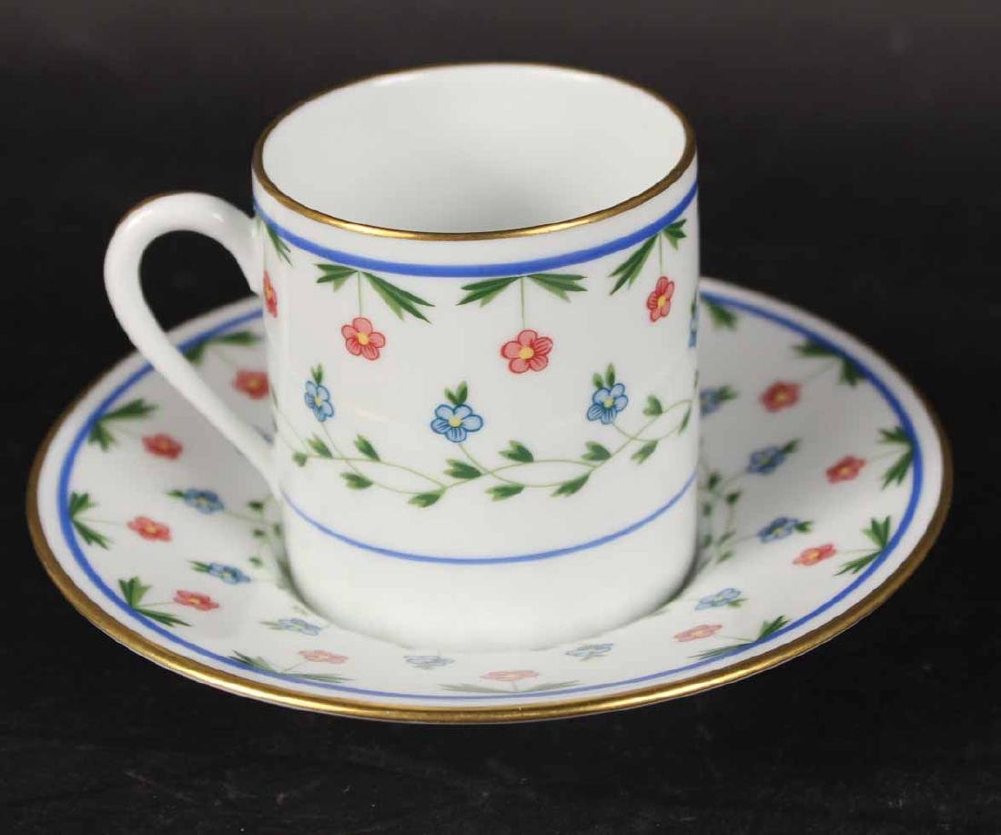 Partial Christian Dior Tropez Blue Dinner Service - 9