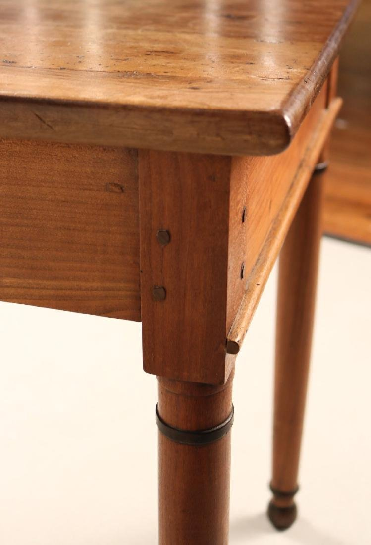 Provincial Style Cherrywood Pier Table - 10