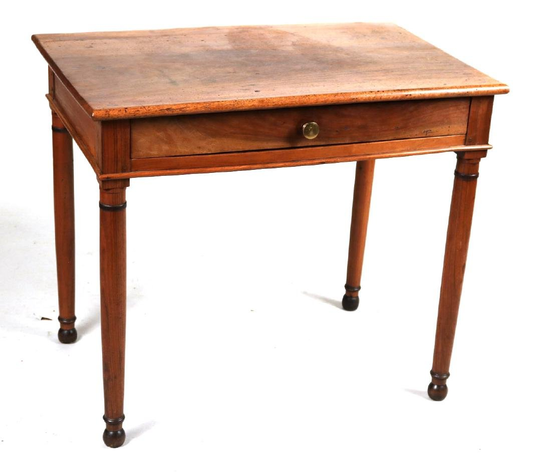 Provincial Style Cherrywood Pier Table
