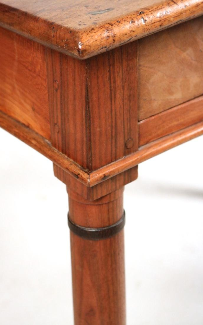 Provincial Style Cherrywood Pier Table - 2