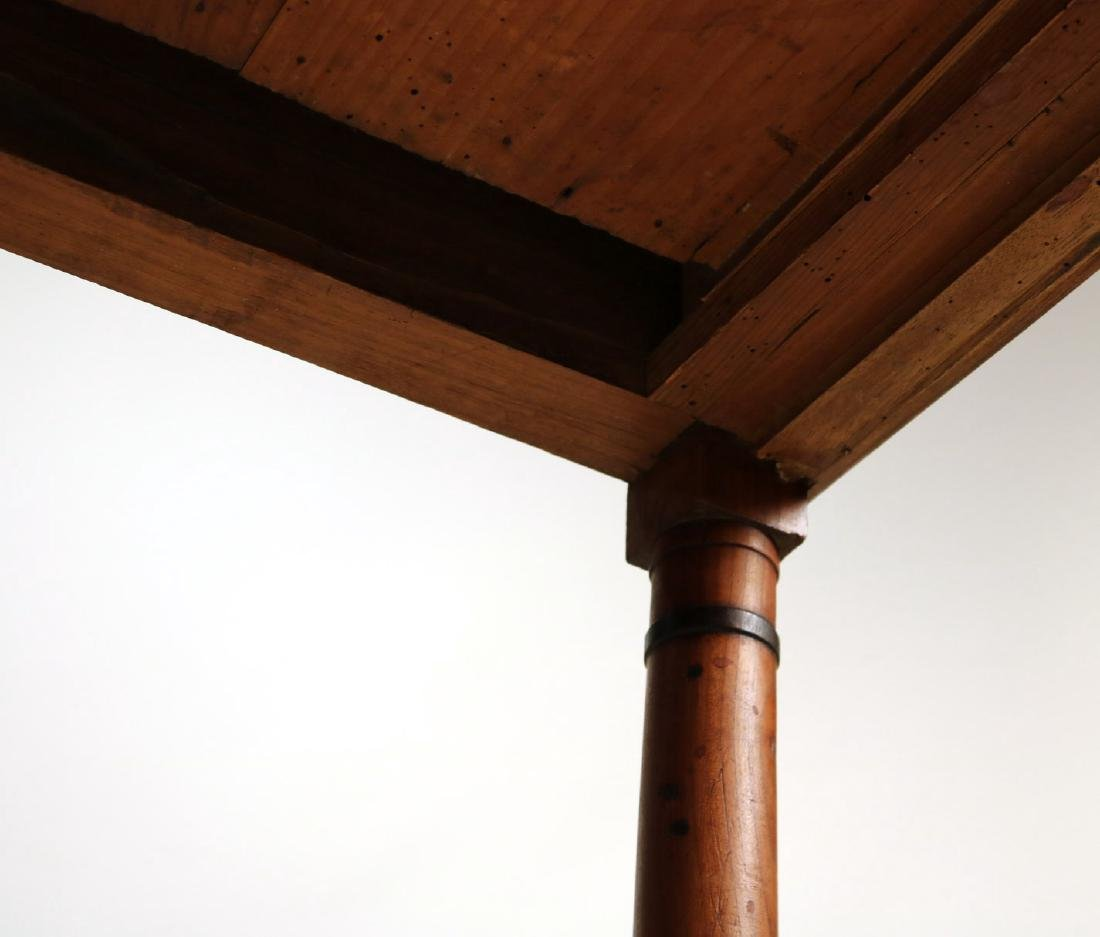 Provincial Style Cherrywood Pier Table - 6