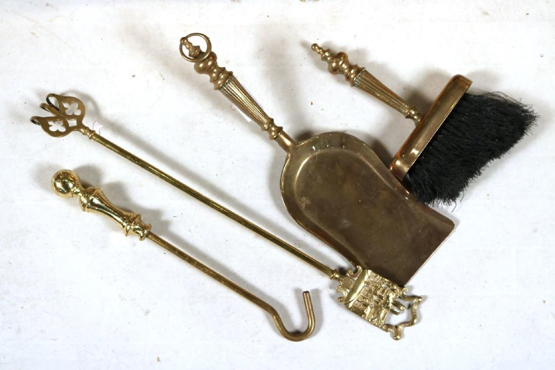 Group of Assorted Fireplace Tools - 4