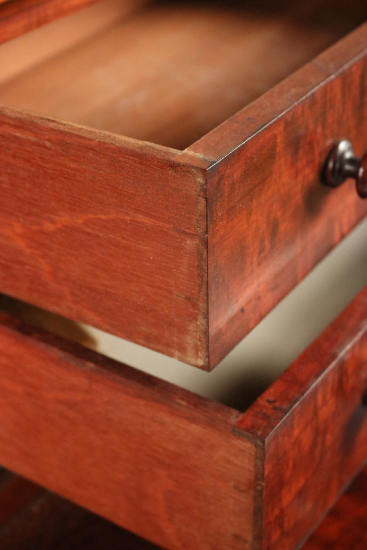 Victorian Mahogany Diminutive Step Back Cabinet - 4