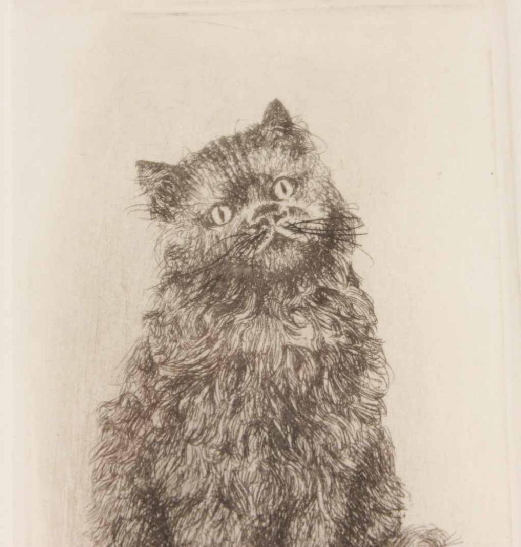 Cecil Aldin Print of Hooded Cat with Basket - 4