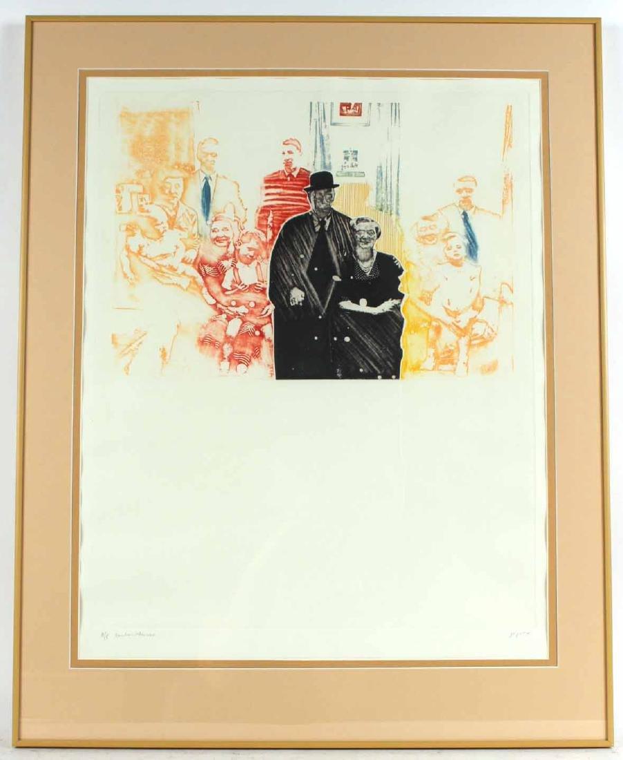 Pichas Cohen Gan Abstract Print