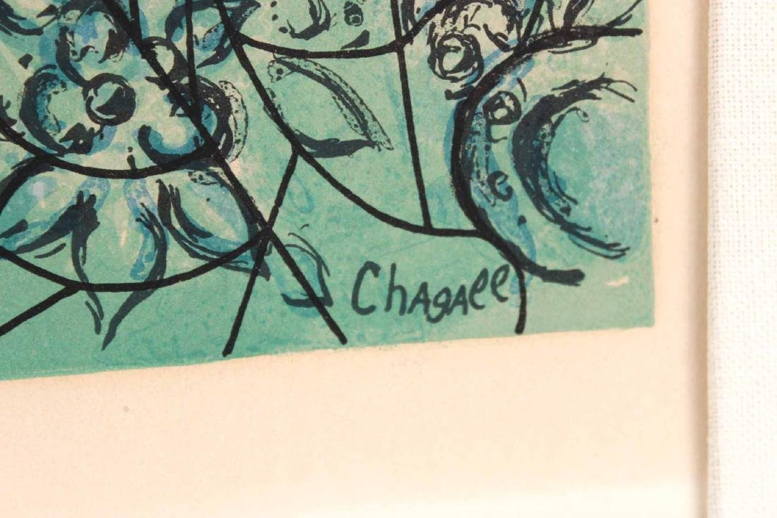 Arched Chagall Pencil Numbered Print - 3