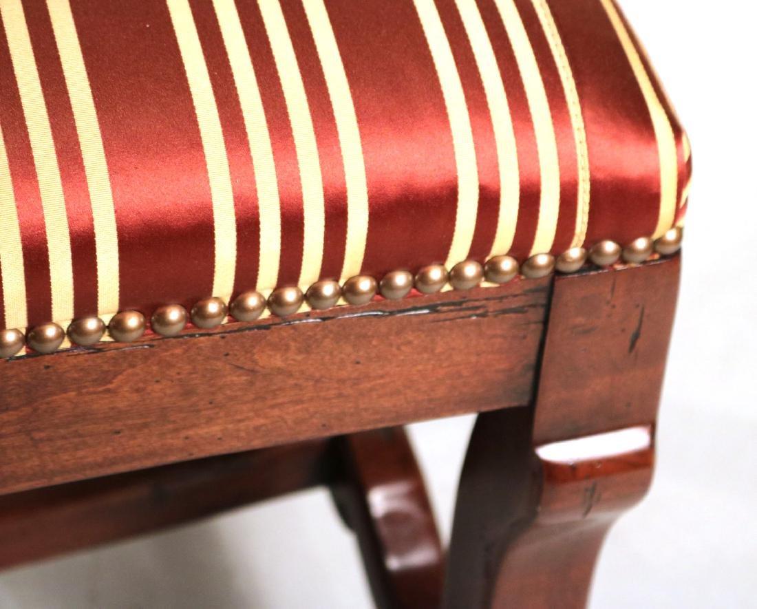 Baroque Style Mahogany Window Seat - 3