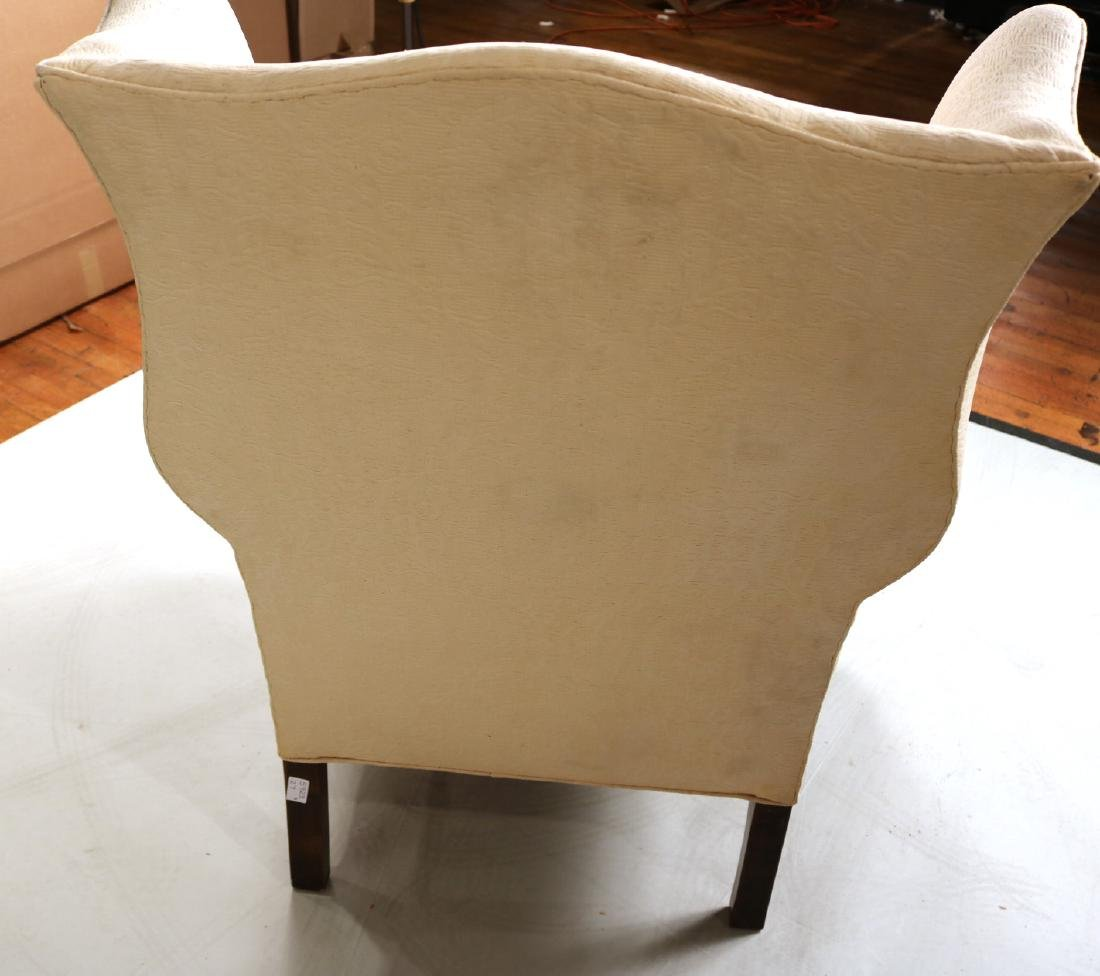 Chippendale Style Mahogany Easy Chair - 6