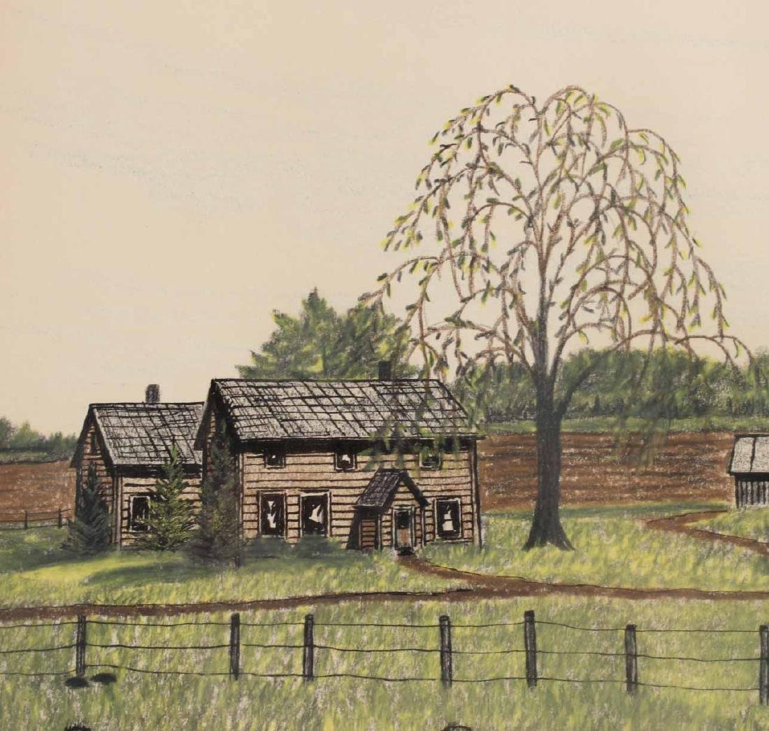 Drawing, Farm Landscape - 4