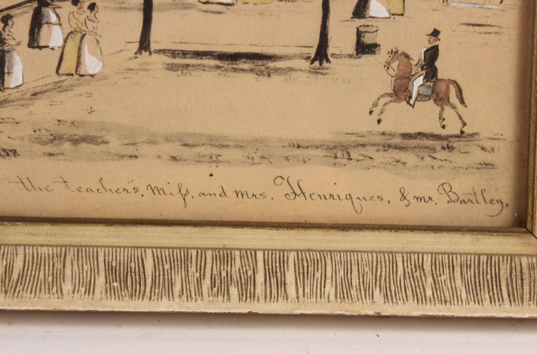 Pair of Hand-Painted Prints of Christiansburg, VA - 3
