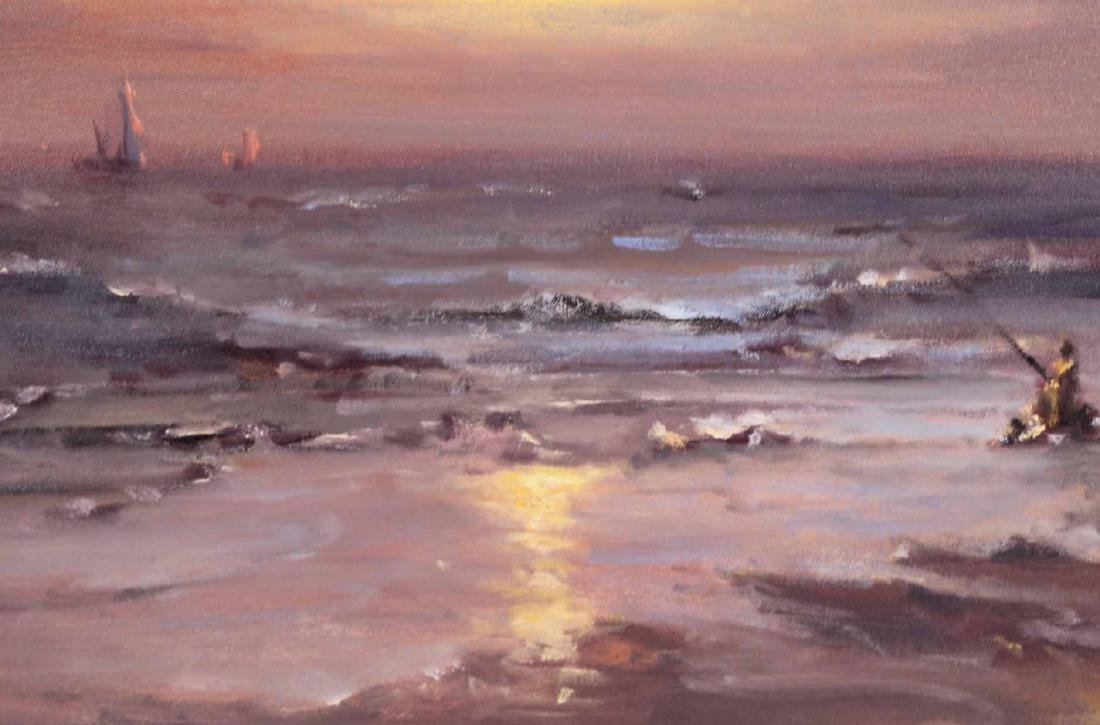 Oil on Canvas, Sunset, Robert Waltsak - 6