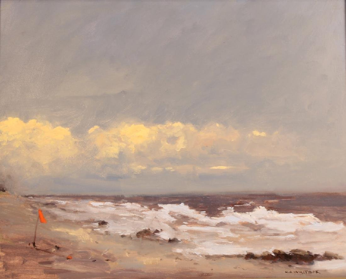 Oil on Canvas, Storm, Robert Waltsak - 2