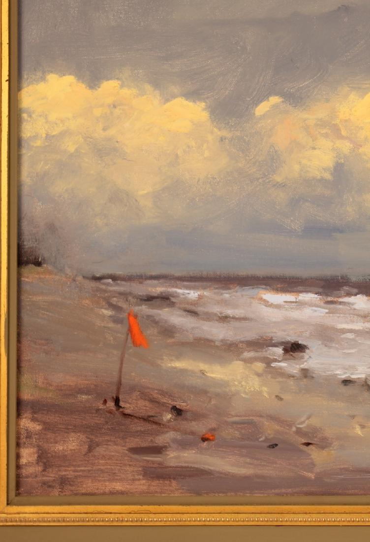 Oil on Canvas, Storm, Robert Waltsak - 5