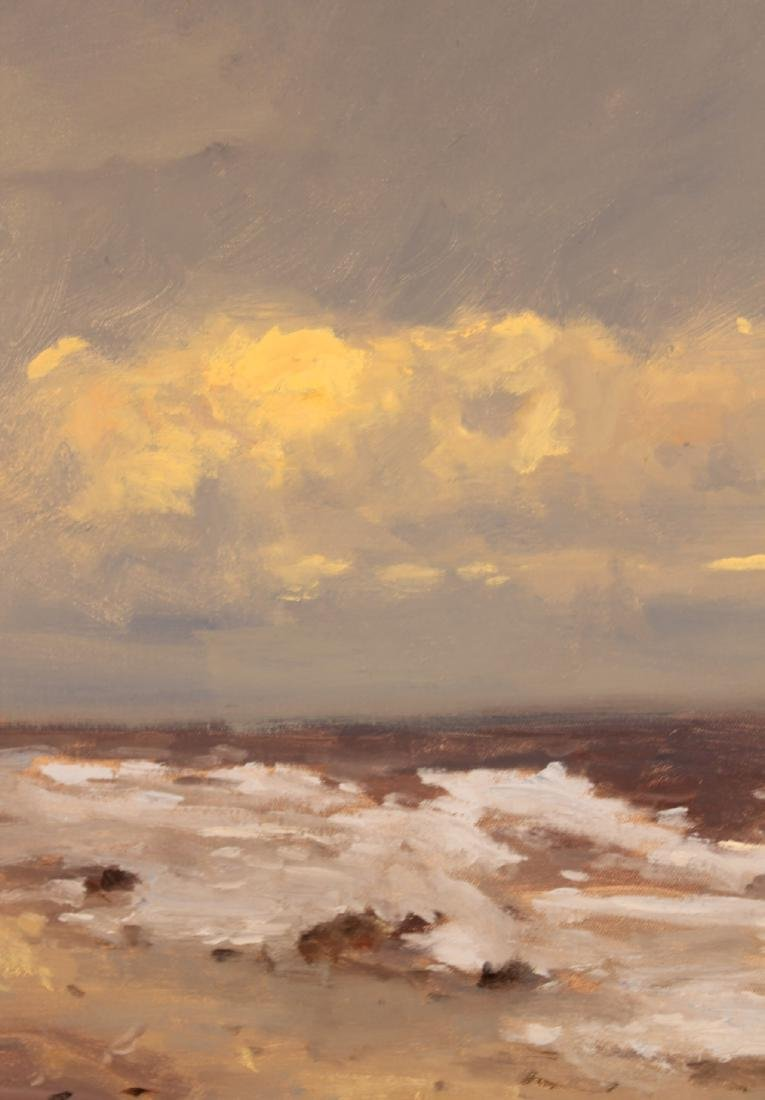 Oil on Canvas, Storm, Robert Waltsak - 8