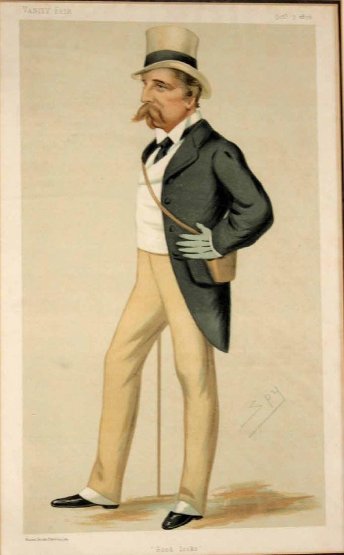 Four Vanity Fair Prints of Men and Fashion - 10