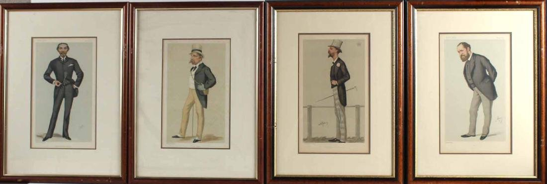 Four Vanity Fair Prints of Men and Fashion