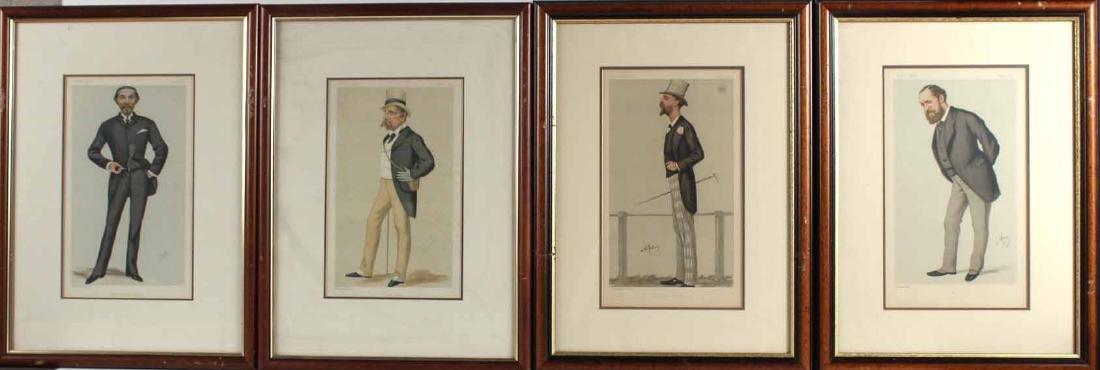 Four Vanity Fair Prints of Men and Fashion