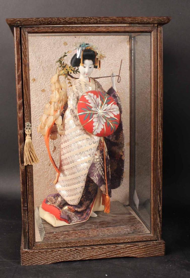 Three Japanese Standing Dolls - 2