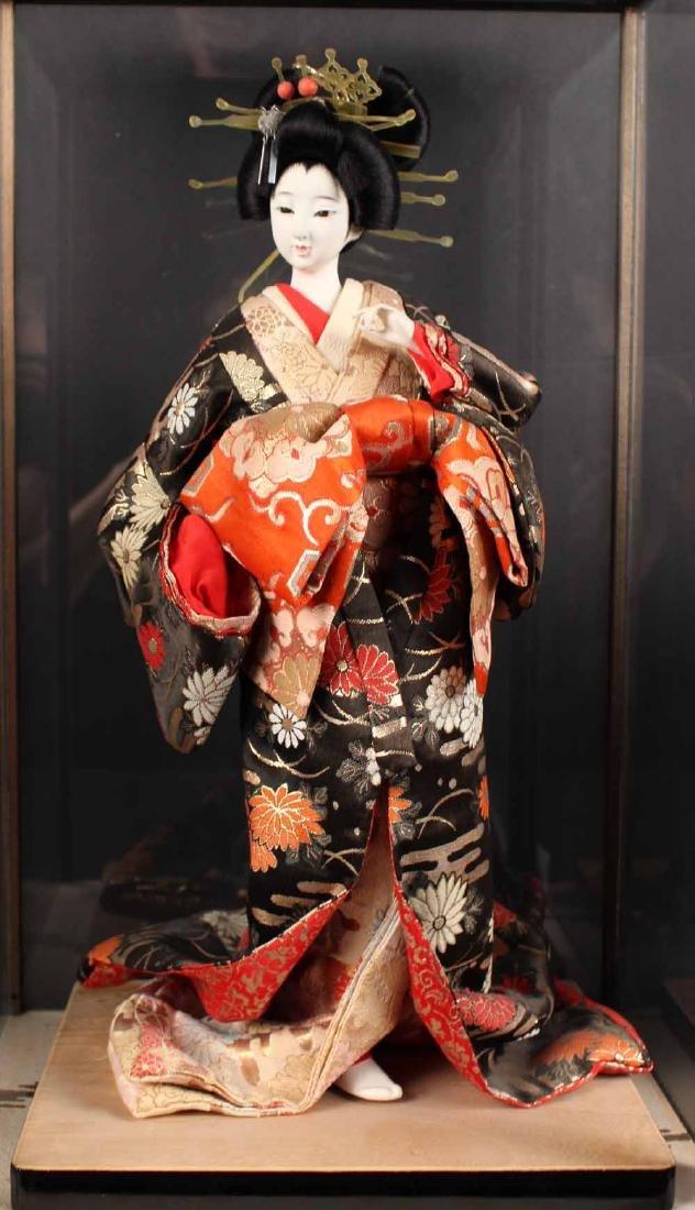 Three Japanese Standing Dolls - 4