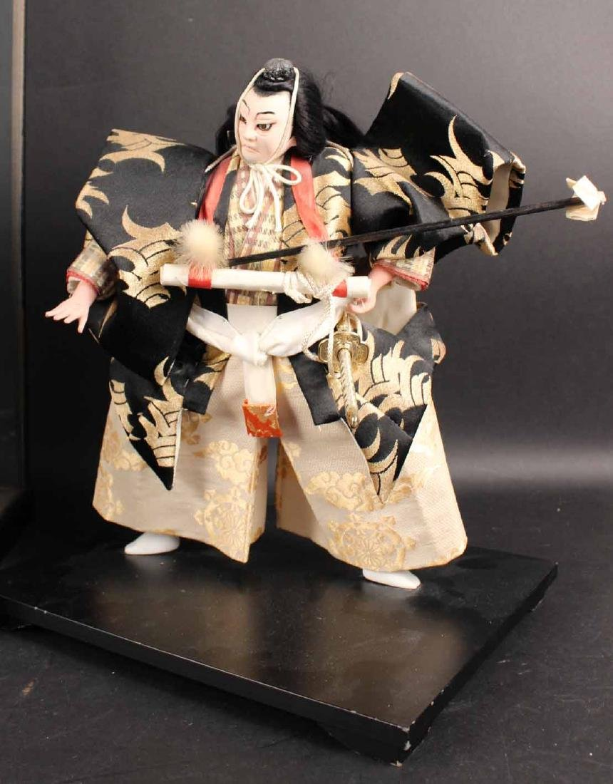 Three Japanese Standing Dolls - 5