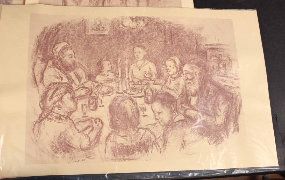 "Four ""Jewish Life"" Prints by Barnard Gussow - 2"