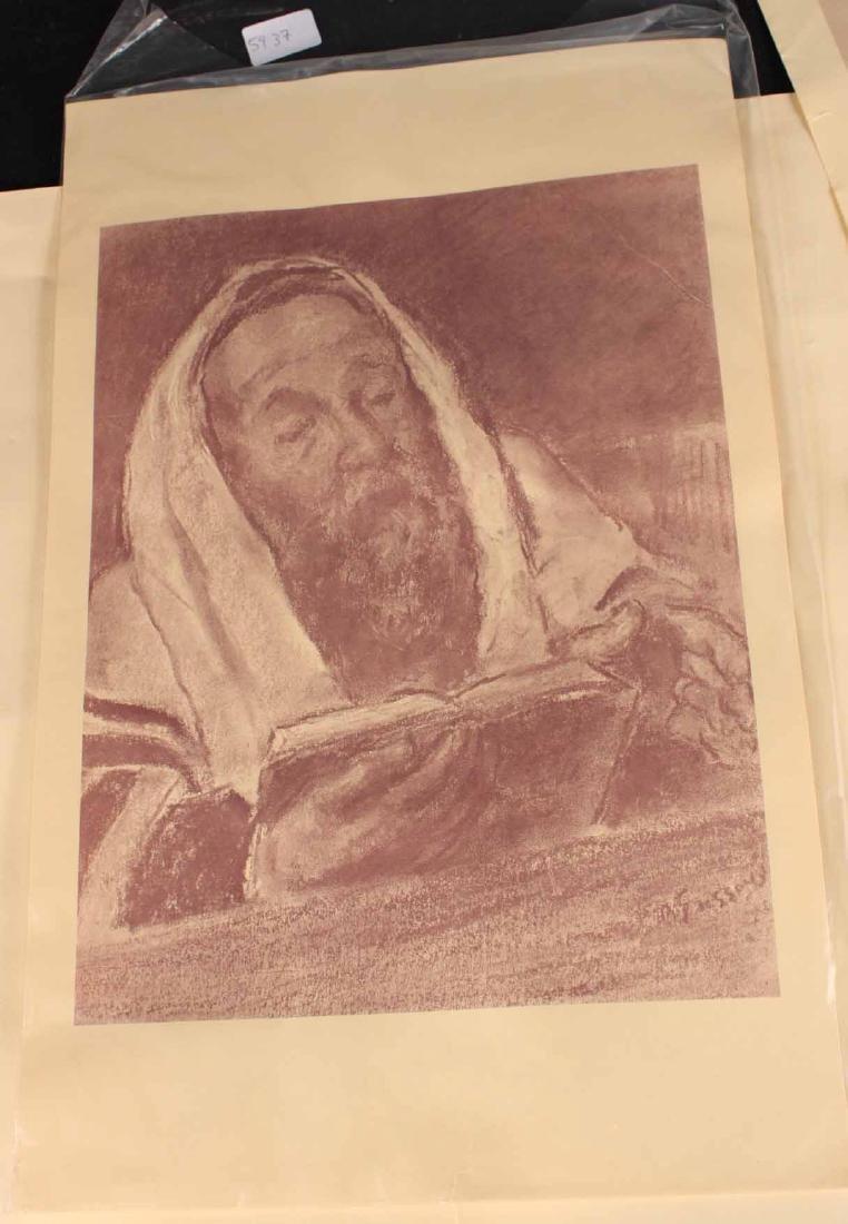 "Four ""Jewish Life"" Prints by Barnard Gussow - 4"
