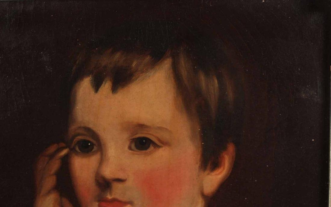Oil on Canvas, Portrait of a Boy - 7