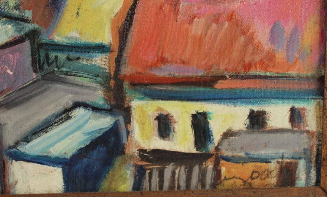 Oil on Canvas, Grecian Port, Joachim Papadopoulos - 3