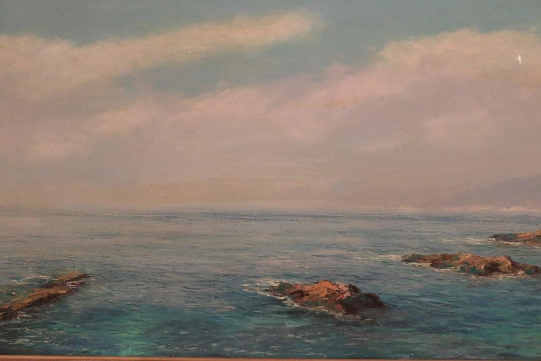 Oil on Canvas Seascape - 2