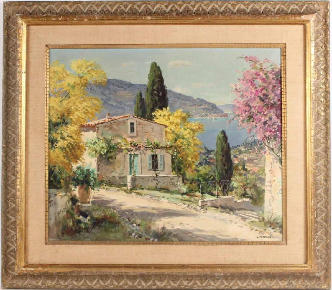Oil on Canvas, Landscape, Lucien Potronat