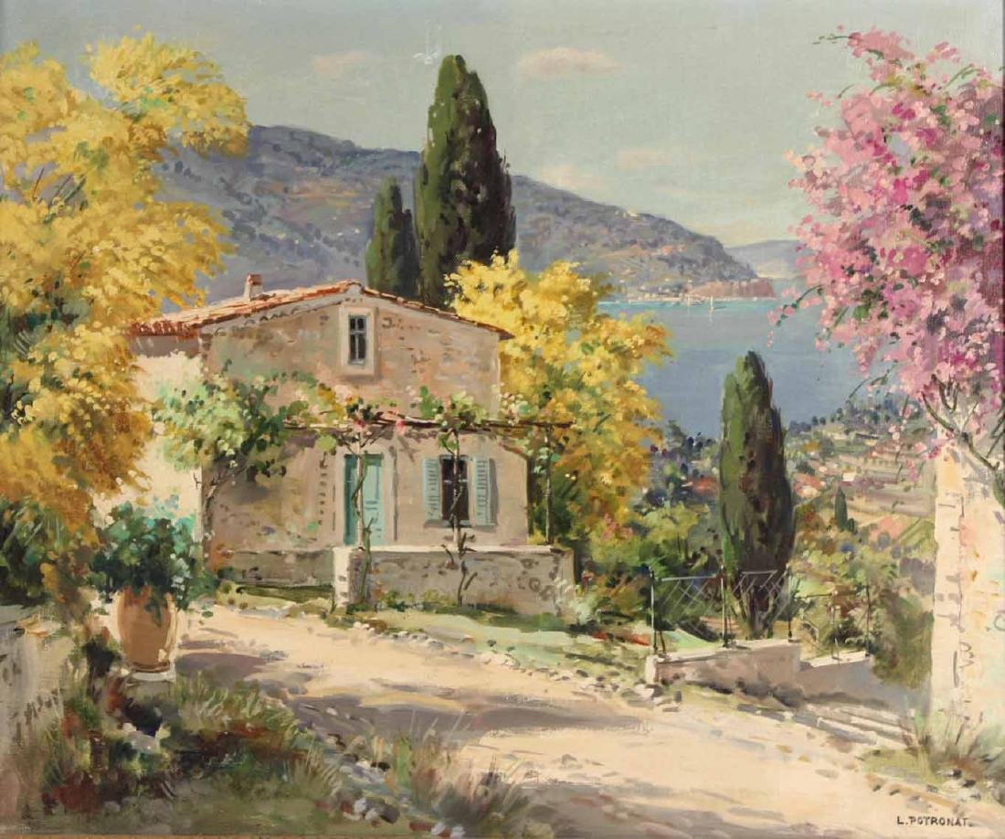 Oil on Canvas, Landscape, Lucien Potronat - 2