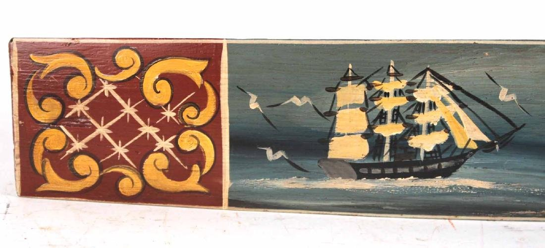 Painted Barrel Stay of Tall Ships and Lighthouse - 4